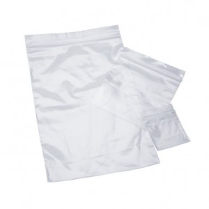 "Pack of 100 4"" x 6"" 2 Milliliter Poly Recloseable Plastic Bags"