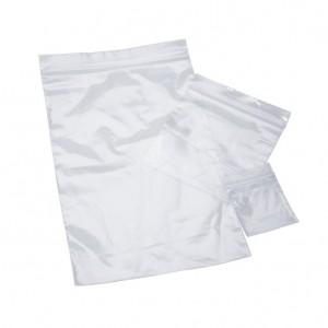 "Box of 1,000 8"" x 10"" Clear Plastic Bags"