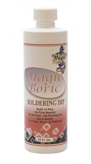 Magic Boric - 16 oz Bottle Jewelry Soldering Flux