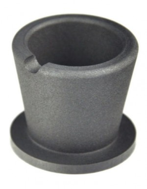 10 oz Gold Graphite Crucible Cup w/ Base