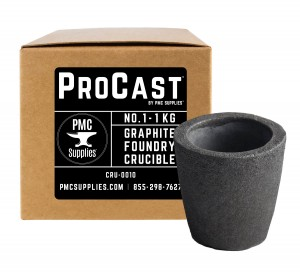 ProCast™ No 1 - 1 Kg Clay Graphite Foundry Crucible