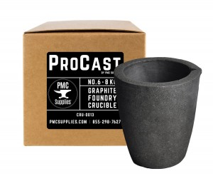 No 6 - 8 Kg Clay Graphite Foundry Crucible