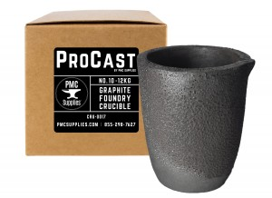 No 10 - 12 Kg Clay Graphite Foundry Crucible