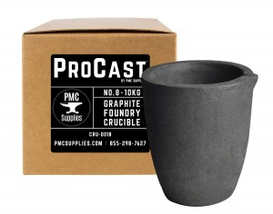 ProCast™ No 8 - 10 Kg Clay Graphite Foundry Crucible