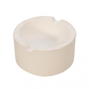 "3"" - 7 Oz Ceramic Silica Crucible Dish Cup for Melting Pouring Gold, Silver, Copper"