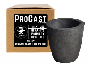 No 4 - 6 Kg Clay Graphite Foundry Crucible