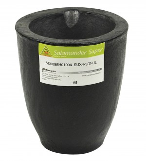 A5 - 6.8 Kg Salamander Super Clay Graphite Crucible