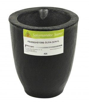 A25 - 36 Kg Salamander Super Clay Graphite Crucible