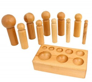 Large Wooden Dapping Set