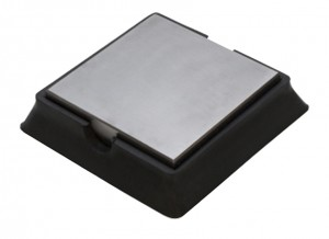 "4"" Steel and Rubber Bench Block"