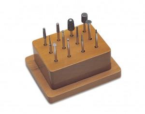 12 Piece #2 Diamond Instrument Set w/ Wooden Stand