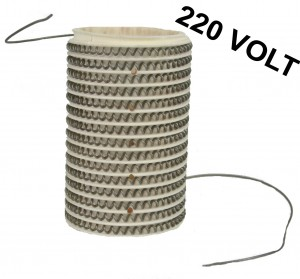 MF Series / Hardin Furnace Kiln Ceramic Chamber Insert w/ 220 Volt (Euro) Heating Coil