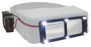 LED Light Attachment for the Optivisor