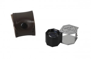 20.5 mm - 15X Chrome/Black Hexagonal Eye Loupe