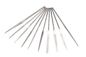 10 Piece Diamond Needle File Set