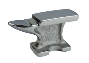 2 Lb Steel Anvil w/ Chrome Finish