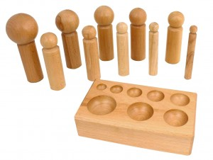 Large Wooden Dapping Set - 16 MM to 65 MM
