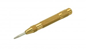 "5"" Automatic Brass Center Punch"