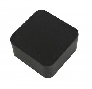 """2"""" x 2"""" x 1"""" Rubber Dapping Block Stamping Surface"""