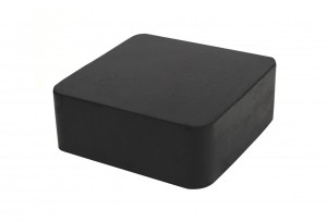 """2-1/2"""" x 2-1/2"""" x 1"""" Rubber Dapping Block Stamping Surface"""
