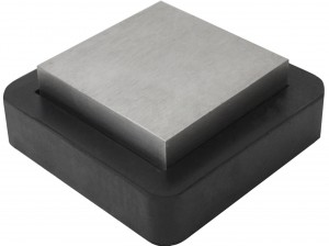 "4"" Combination Steel and Rubber Bench Block"