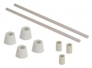 MF Series / Hardin Furnace Kiln Ceramic Insulation Tubing and Bushings