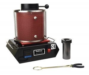 ProCast™ 2 Kg 220 Volt European Electric Melting Furnace 2102°F