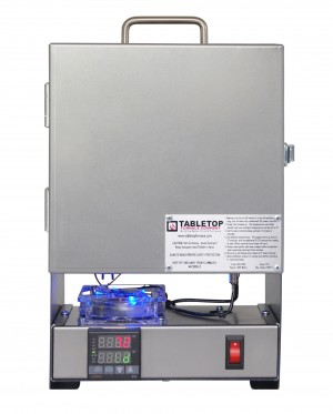 TableTop RapidFire Pro-LP Programmable Furnace - Stainless Steel