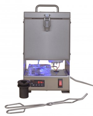 TableTop QuikMelt 10 oz PRO-10 Melting Furnace - Stainless Steel