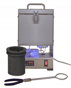 TableTop QuikMelt 100 oz PRO-100 Melting Furnace - Stainless Steel