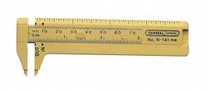 75 mm Swiss Sliding Plastic Gauge