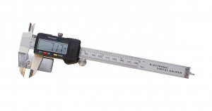 "9-1/4"" Digital Caliper Gauge with Stone Holder"