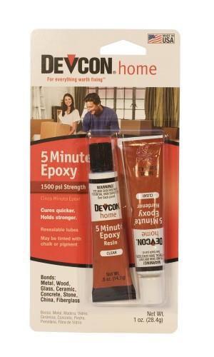 Devcon® 5-Minute Epoxy - 1/2 Oz Tubes (2)