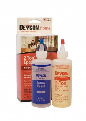 2 TON EPOXY - TWO 4 1/2 OZ. BOTTLES