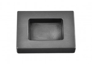 100 Gram Gold Rectangular Graphite Ingot Mold