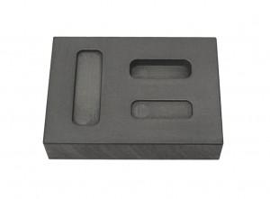 1-5-10 Gram Gold Combo Graphite Ingot Mold