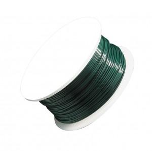 24 Gauge Green Artistic Wire Spool - 20 Yards