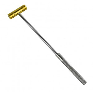 "9"" Brass Hammer w/ Steel Handle"