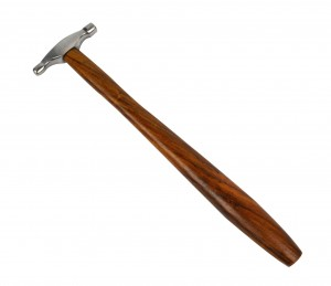 "9-1/4"" Mini Embossing Hammer - 8.5 mm and 10 mm"