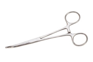 "6"" Curved Forceps"