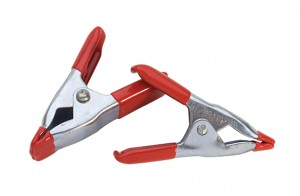 "2/Pk 2"" Spring Clamps"