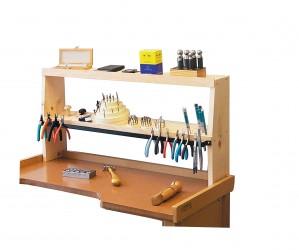 """35"""" x 7-1/4"""" x 17"""" Bench Shelf Jewelry Tool Storage Organizer"""