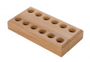 Wooden Plier Block w/ 12 Holes