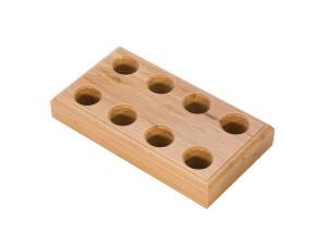Wooden Plier Block w/ 8 Large Holes