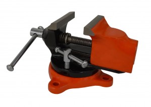 "Mini Benchtop Swivel Vise w/ 2"" Jaw Opening"