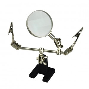 Helping Hand Magnifier 3rd Hand Holder