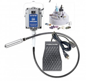 Foredom's K.2230 Flex Shaft Kit w/ H.30 Handpiece Foot Control & Accessories
