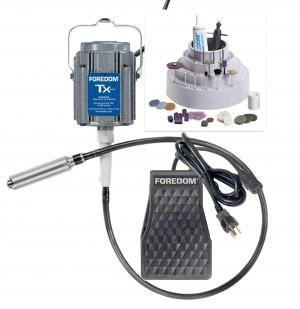 Foredom K.TX300 Flex Shaft Jeweler's Kit & Accessories