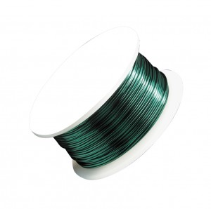 28 Gauge Kelly Green Artistic Wire Spool - 40 Yards