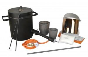 "The 10 Kg Light Duty ""Melter's"" Propane Furnace Kit"